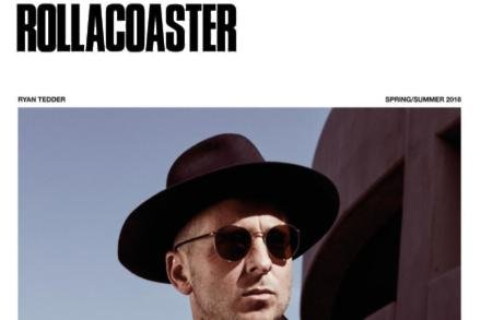 Ryan Tedder for Rollercoaster magazine