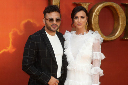 Ryan Thomas and Lucy Mecklenburgh