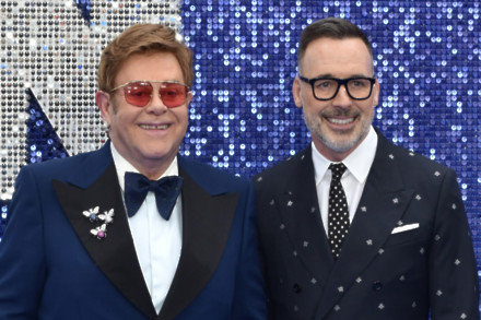Sir Elton John and David Furnish