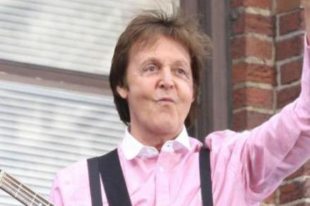 Wing's Singer Sir Paul McCartney