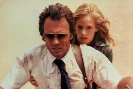 Sondra Locke and Clint Eastwood in The Gauntlet