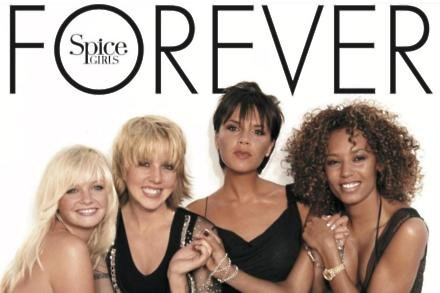 Spice Girls' Forever artwork