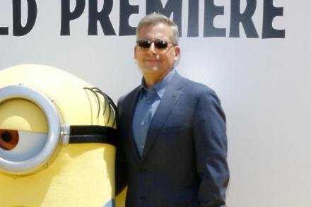 Steve Carell who voices Gru