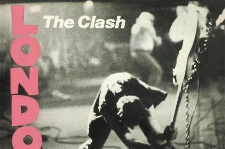The Clash London Calling album cover