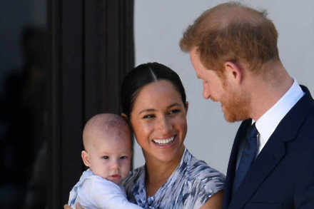 The Duke of Duchess of Sussex and Archie