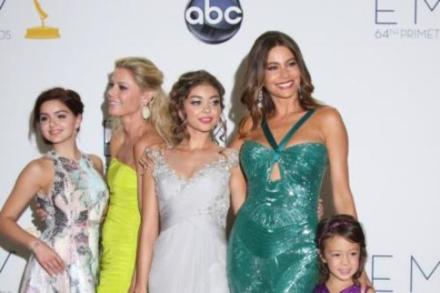 The female cast of Modern Family at the Emmy Awards