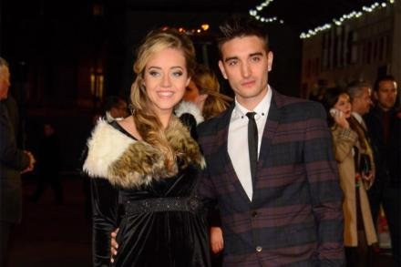 Kelsey Hardwick and Tom Parker
