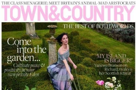 Town and Country magazine's summer issue