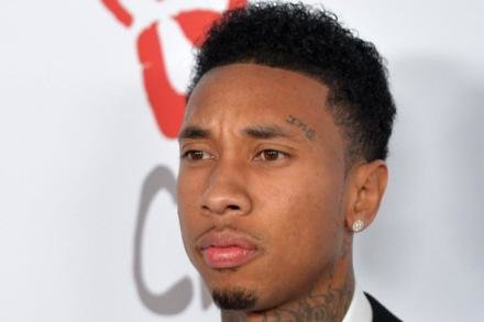 Tyga has been hospitalised