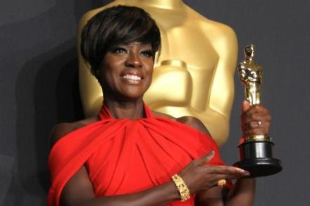 Viola Davis won her first Oscar