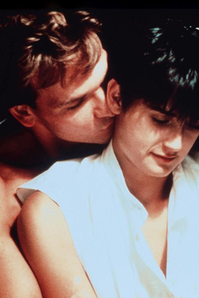 Patrick Swayze with Demi Moore in 'Ghost'