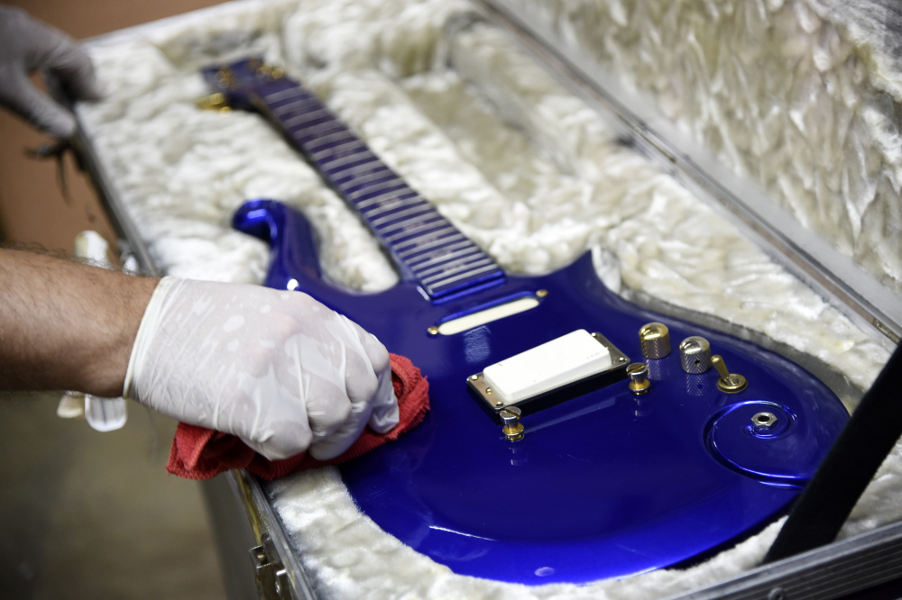 Guitar from Prince's prime sells for huge sum at auction