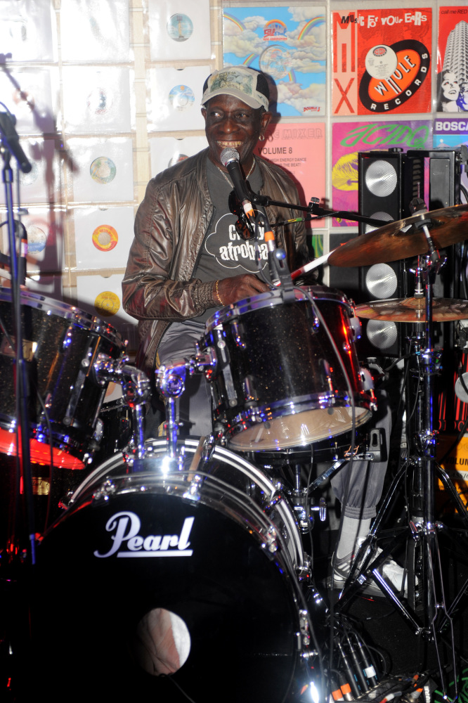 Tributes paid to influential Afrobeat drummer Tony Allen