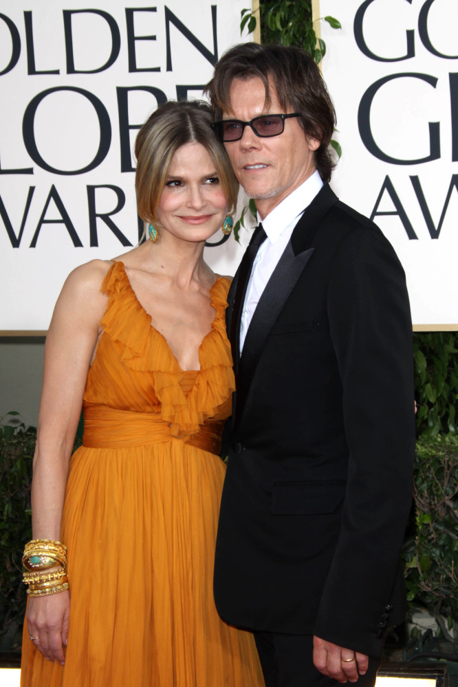 Kevin Bacon and Kyra Sedgwick (Credit: Famous)