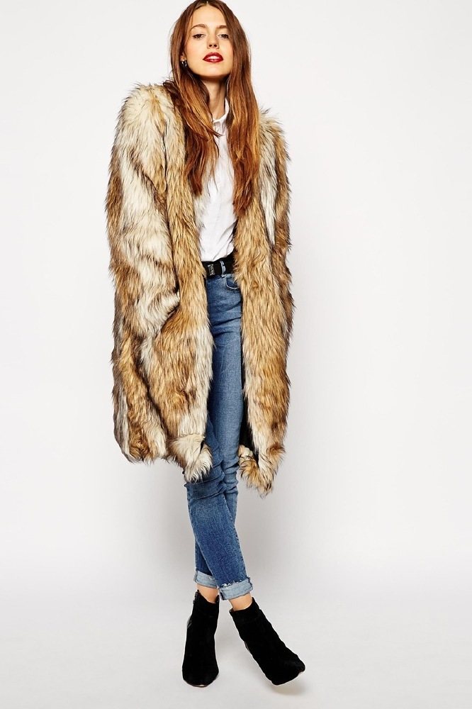 67cd9529081 Top 12 Fur Coats from the High Street