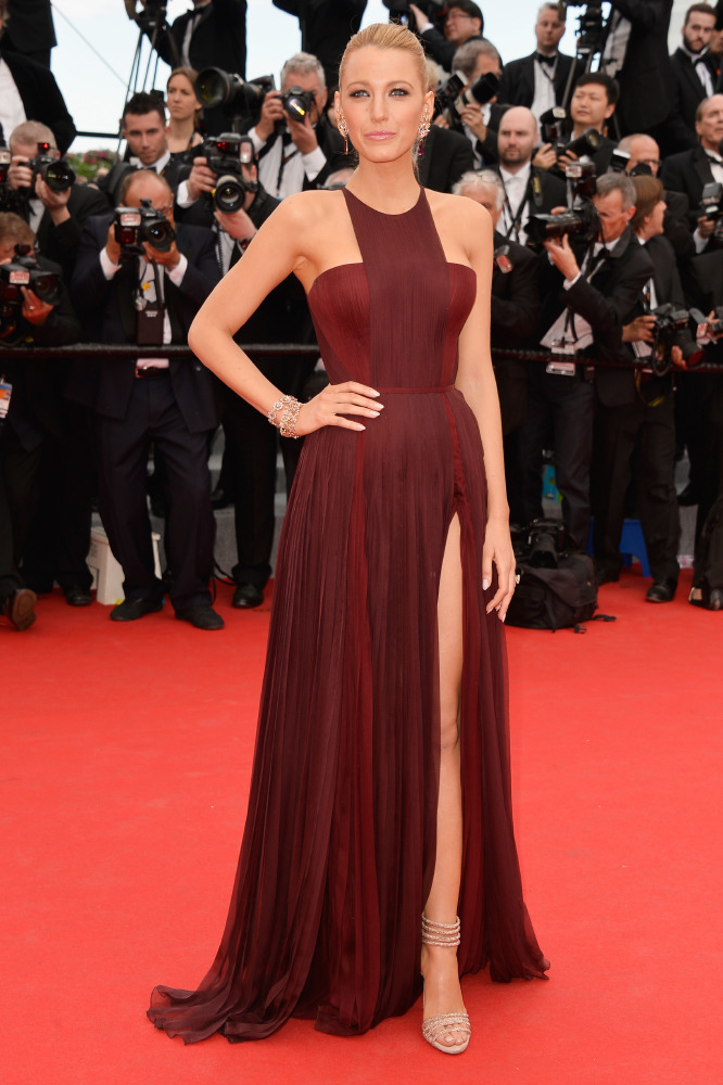 cf2b1664d6 Blake Lively wore Gucci Premiere to opening ceremony of Cannes