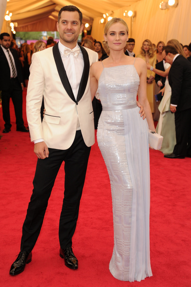 1dbf710368 Joshua Jackson and Diane Kruger make a stylish appearance at the Met Gala