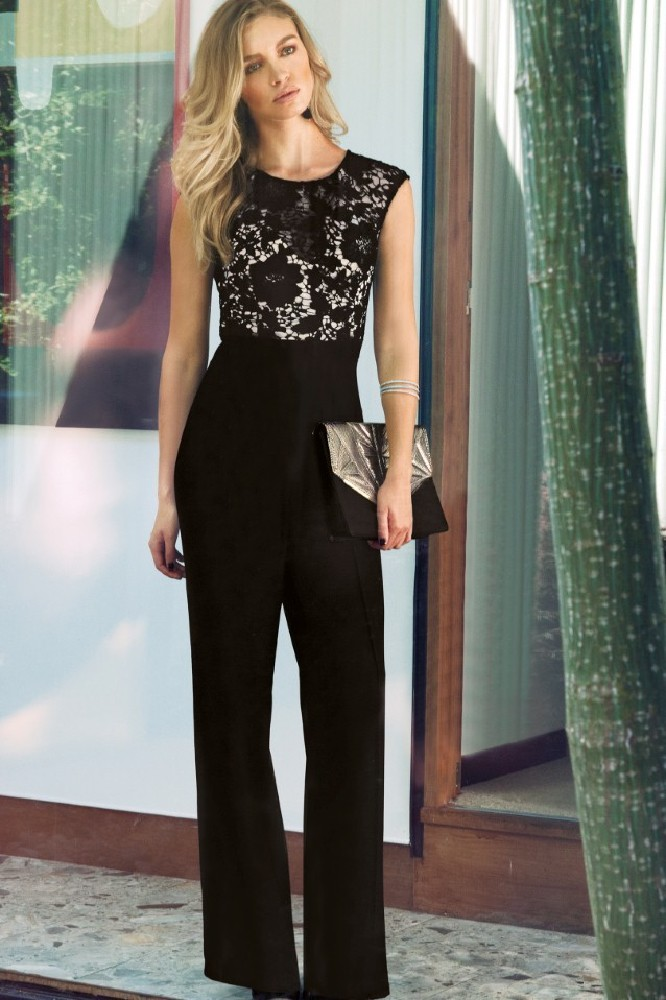 Evening Fashion 2013 Lace Jumpsuits